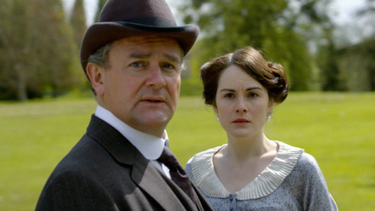 Lord Grantham and Mary
